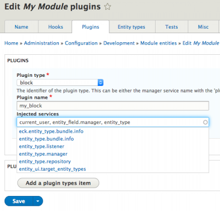 Regenerating plugin dependency injection with Module Builder